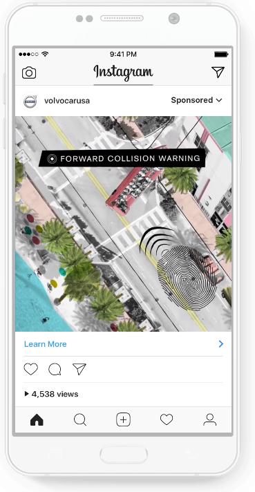 видеореклама Instagram