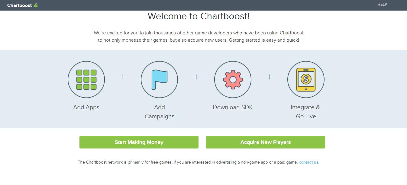 Chartboost advertising platform