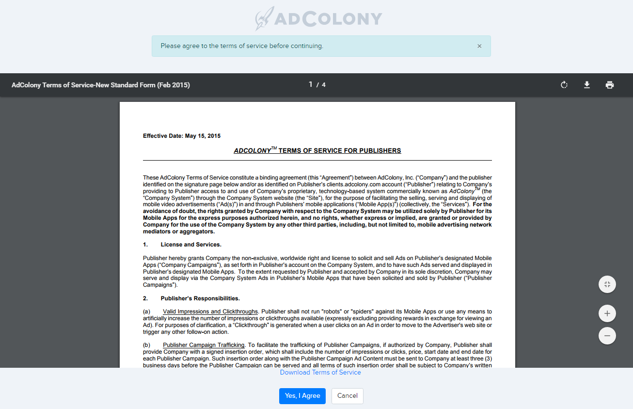 AdColony Ad Network Overview