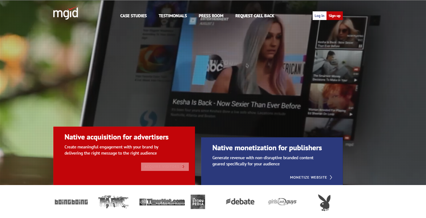арбитраж в нативных рекламных сетях mgid