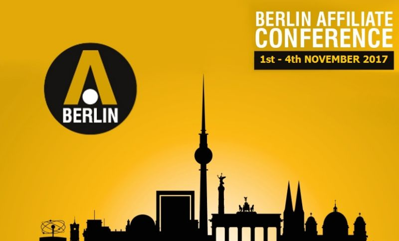 Berlin Affiliate Conference 2017
