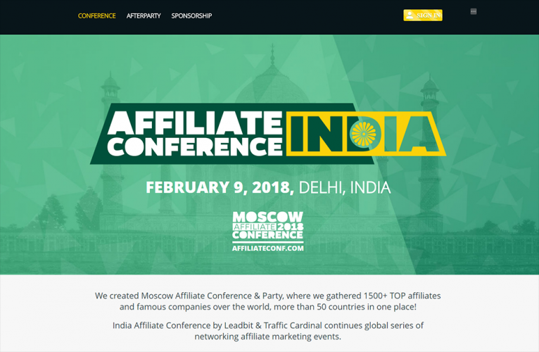 India Affiliate Conference 2018